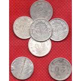Moneda Mexicana Plata Veinte Centavos Sol P155