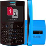 Promoção Celular Nokia Asha 205 Dual Sim Azul Seminovo
