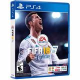 Fifa 18 Ps4 Fisico 2018 Playstation 4 Fifa18 - Palermo