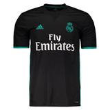 Camisa adidas Real Madrid Cristiano Ronaldo 2018 Cr7 Preta