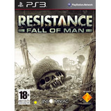 Resistance Fall Of Man Ps3 Español Digital