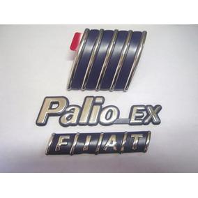 Kit Emblemas Palio Ex + Mala Fiat + Capo 98 99 00