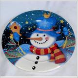 Platos Navideños 30 Cm Hogar Regalos Navidad Familia