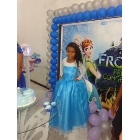 Vestido De Anivessario Da Fronze De 5 Anos
