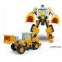 Carro Caminhão E Robô Transform Uma Peça Brinquedo Modelo 2