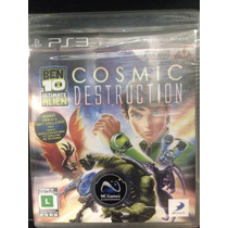 Ben 10 Ultimate Alien Cosmic Destruction Ps3 Novo Lacrado!!!