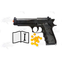 Juguete Marcadora Resorte Ukarms M757 Black 6mm