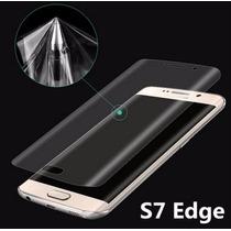 Mica Anti Impacto Flexible Para Las Curvas Galaxy S7 Edge