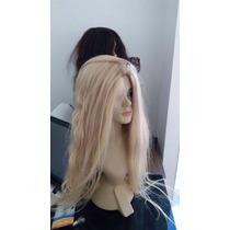 Peruca Cabelo Humano 65cm Linda