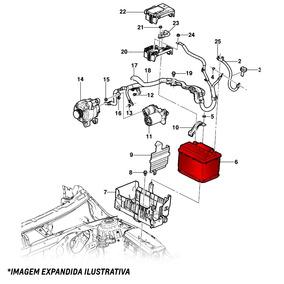 Bateria 70 Ah Amperes Trailblazer 2012 Em Diante 13576783