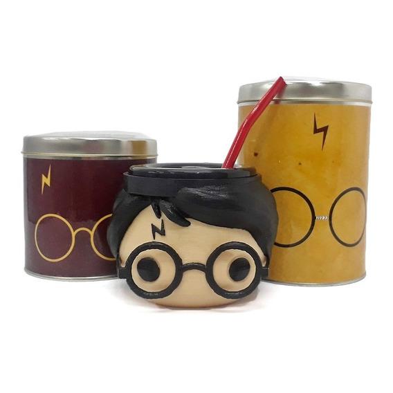 Mate Harry Potter + Azucarero + Yerbero