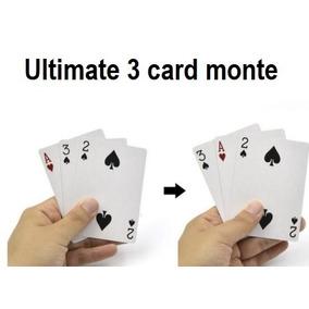 Ultimate 3 Card Monte (set De Cartas Trucadas)
