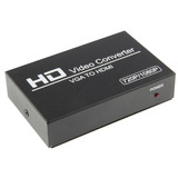 Hd Video Convertidor Vga Hdmi Apoya Mhz Gbps Bits Canal