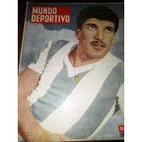 Revista Mundo Deportivo -1956 Fangio Uruguay Lanús Boxeo