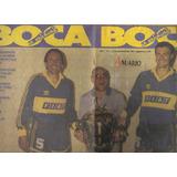 Revista Boca 1991 Campeon Supercopa Poster Aimar Canjes