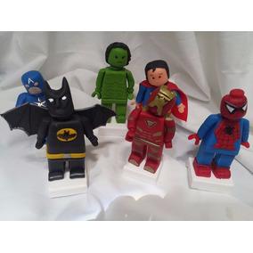 Adorno Avengers Lego Porcelana Fria