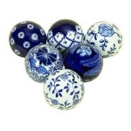 Bolas Decorativas Cerámicas (x Unidad)
