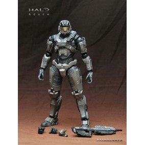 Play Arts Kai Halo Reach Noble Six Único No Mercado