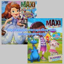 Oferta 2 Libros Maxi Cuentos Dra Juguetes + Princesita Sofia