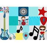 Kit Imprimible Estrella De Rock Star Full Fiesta 3x1