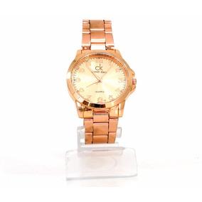 Relógio Feminino Calvin Klein Bronze Cód. 52087