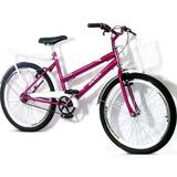 Bicicleta Poty Poti Aro Aero 24 Com Bagageiro Em Promoção