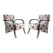 Kit Duas Poltronas Cadeira Decorativa Sala, Recepção