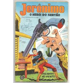 Jerônimo Nº 52 - Rge-1962 - Muito Bom P/ Ótimo Estado