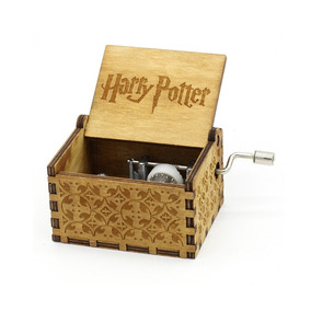 Caja Musical Madera Harry Potter / Game Of Trones Piano Midi