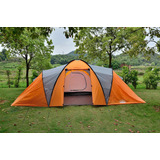 Carpa Familiar 8 - 9 Personas 4 Ambientes Camping