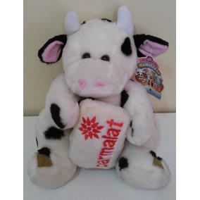 Bicho De Pelúcia Coleção Mamíferos Parmalat Vaca
