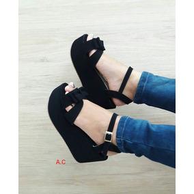 Zapatos Negros Plataforma Gruesa Moda Emo - Ropa y Accesorios en ... e89b28b198b5