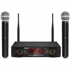 Microfone Duplo Sem Fio Iu-320 Qualidade Pgx Shure Beta