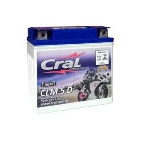 Bateria Para Moto Cral -hunter 90 E 100 - 5 Amperes