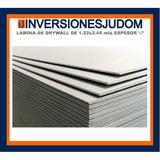 Laminas Drywall Medidas 1.22 X 2.44 Espesor 3/8 P/techo
