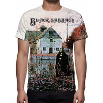 Camisa, Camiseta Banda Black Sabbath - Estampa Total