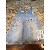 Jumper Blue Jeans Niña Talla 12 Meses Vestido Ropa Bebe