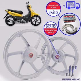 Roda Liga Leve Fabreck Honda Biz 100 /125 12x S/juros+frete