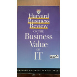 Hbr Business Value Of It