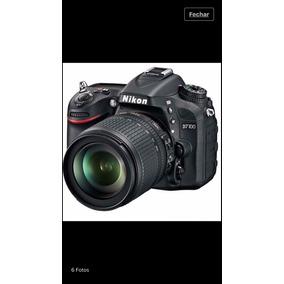 Câmera Nikon D7100 Com Lente 18-105 Kit