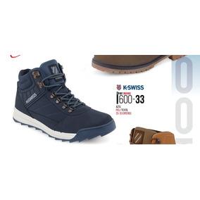 af07797b5 Botas K K K Swiss Para Hombre Azules Zapatos en Mercado Libre México 450c0f