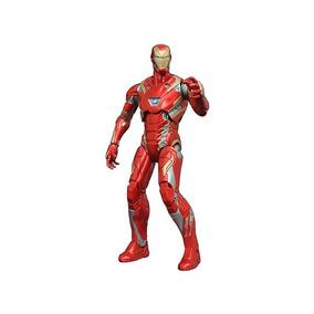 Boneco Colecionável Homem De Ferro Mk45 - Marvel Select