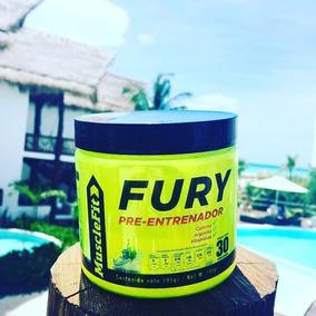 Fury - Pre Entrenador + Oxido Nitrico * No Da Bajón