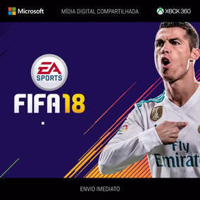 Fifa 18 - X360 - Mídia Digital - Original