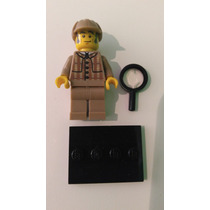Lego Minifiguras Serie 5 Detective Loose Impecable Checa Fot