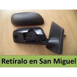 Espejo Retrovisor Toyot Yaris 2007-2013 Sedan Manual Derecho