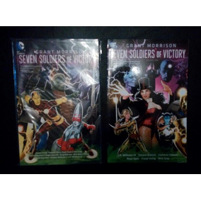 Lote 2 Tpbs Seven Soldiers Morrison Dc Comics Subasta $1!!