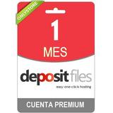 Cuenta Premium Depositfiles 30 Dias - Personal 100% Original