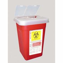 Bote Rojo Para Residuos Punzocortantes Biologicos Infeccioso