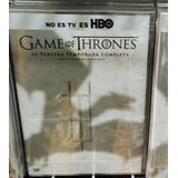 Game Of Thrones Temporada 3, Juego De Tronos Dvd